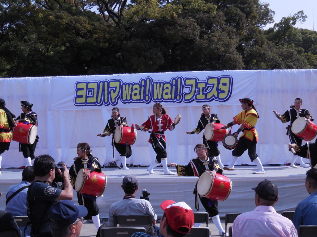 (2015年度) 沖縄エイサーの演舞