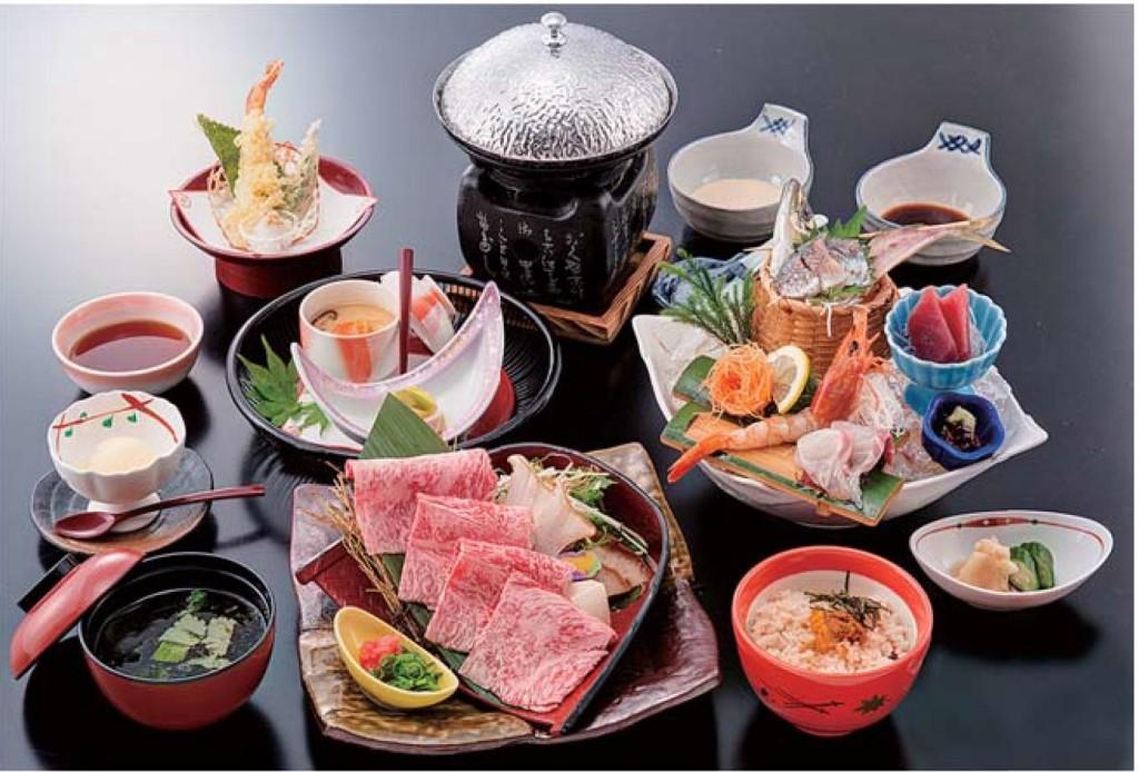 きじま_夕食(しゃぶしゃぶ御膳)